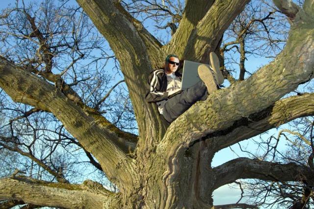 Trådlöst men inte trädlöst