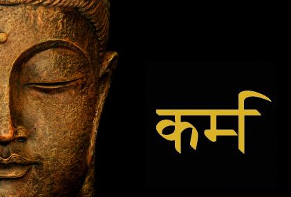 Karma srivet på sanskrit