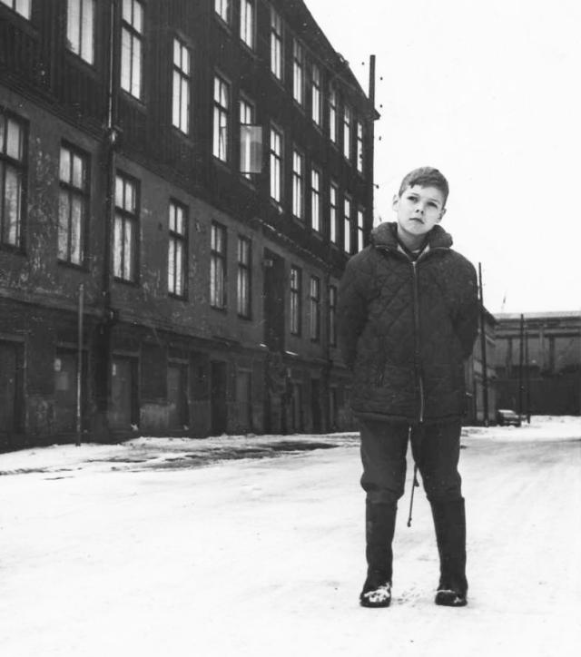 Jag själv, 1963, med helt andra drömmar än idag.