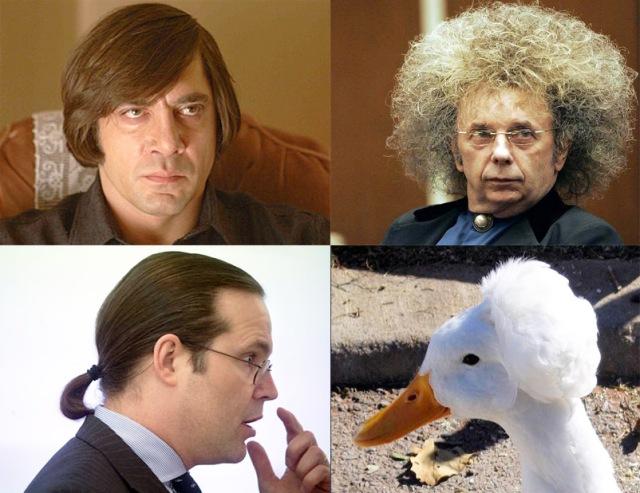 Stolliga frisyrer