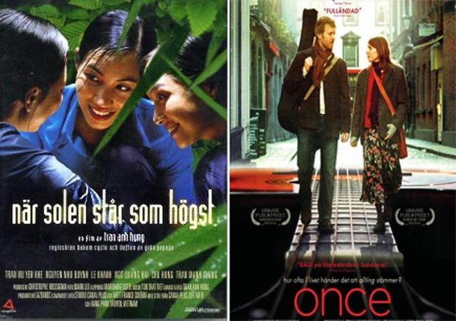 Två filmer som är som balsam mot höstmörkret.
